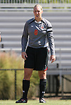04 October 2009: Maryland's Mary Casey. The University of Maryland Terrapins defeated the Duke University Blue Devils 4-0 at Koskinen Stadium in Durham, North Carolina in an NCAA Division I Women's college soccer game.