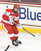 Jill Cardella (BU - 22) - The visiting Boston University Terriers defeated the Boston College Eagles 1-0 on Sunday, November 21, 2010, at Conte Forum in Chestnut Hill, Massachusetts.