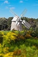 Old Higgin's Farm Windmill at Drummer Boy Park and Museum, Brewster, Cape Cod, MA, Massachusetts