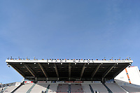 A general view of the Stade Mayol prior to the match. European Rugby Champions Cup match, between RC Toulon and Bath Rugby on January 10, 2016 at the Stade Mayol in Toulon, France. Photo by: Patrick Khachfe / Onside Images