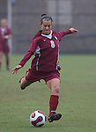 Florida State's Selin Kuralay scores the game's first goal in the 36th minute on Sunday, October 22nd, 2006 at Koskinen Stadium in Durham, North Carolina. The Duke Blue Devils defeated the Florida State University Seminoles 3-1 in an Atlantic Coast Conference NCAA Division I Women's Soccer game.
