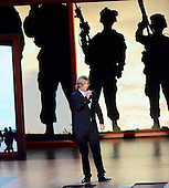 """Beau Davidson performs """"Blessed"""" at the 2012 Republican National Convention in Tampa Bay, Florida on Wednesday, August 29, 2012.  .Credit: Ron Sachs / CNP.(RESTRICTION: NO New York or New Jersey Newspapers or newspapers within a 75 mile radius of New York City)"""