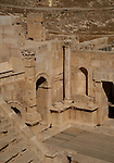 Senate theatre in Jerash