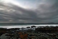 Stormy weather at Tungenes.