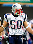 20 December 2009: New England Patriots' linebacker Rob Ninkovich warms up prior to facing the Buffalo Bills at Ralph Wilson Stadium in Orchard Park, New York. The Patriots defeated the Bills 17-10. Mandatory Credit: Ed Wolfstein Photo