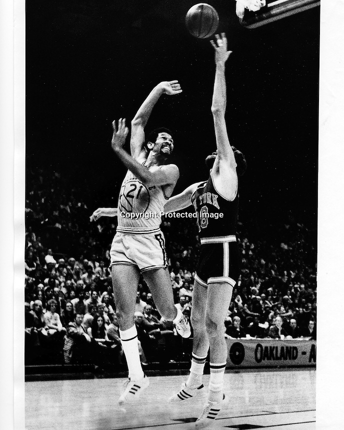 Golden State Warrior Butch Beard. (1974 photo by Ron Riesterer)