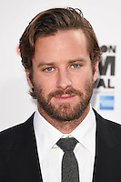 LONDON, UK. October 14, 2016: Armie Hammer at the London Film Festival 2016 premiere of &quot;Nocturnal Animals&quot; at the Odeon Leicester Square, London.<br /> Picture: Steve Vas/Featureflash/SilverHub 0208 004 5359/ 07711 972644 Editors@silverhubmedia.com