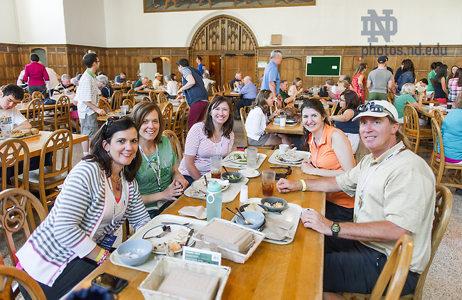 May 30, 2014; Reunion 2014. Photo by Matt Cashore/University of Notre Dame