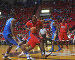 Ole Miss guard Nick Williams (20) at the C.M. &quot;Tad&quot; Smith Coliseum in Oxford, Miss. on Tuesday, February 1, 2011. Ole Miss won 71-69.