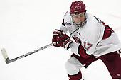 Sean Malone (Harvard - 17) - The Harvard University Crimson tied the visiting Yale University Bulldogs 1-1 on Saturday, January 21, 2017, at the Bright-Landry Hockey Center in Boston, Massachusetts.