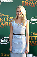 HOLLYWOOD, CA- AUGUST 8:  Chloe Lukasiak at the Disney premiere of 'Pete's Dragon' at El Capitan Theater in Hollywood, California, on August 8, 2016. Credit: David Edwards/MediaPunch