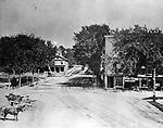 J. Warren Upson photo of Exchange Place ca. 1860.