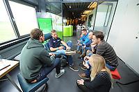 SCHAATSEN: LEMMER: 23-10-2015, Het Woudagemaal, Team Stressless Perspresentatie, Jan Blokhuijsen, ©foto Martin de Jong