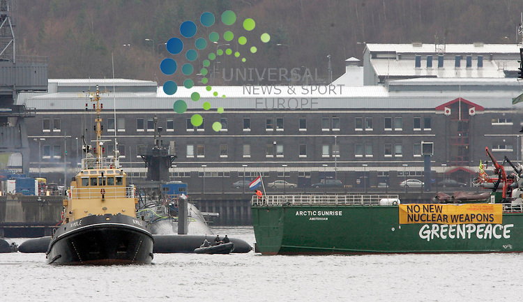 More than &pound;30m is to be spent upgrading accommodation facilities for workers at the Faslane Naval base on the Clyde. The site, which is home to the Trident nuclear submarine fleet, supports 6,700 military and civilian jobs. This is expected to increase to 8,200 by 2022. The investment was announced by Defence Minister Dr Andrew Murrison during a visit to Scotland. He described the funding as a &quot;clear and visible sign&quot; of the UK government's commitment to the base. The Ministry of Defence has awarded Carillion the &pound;31.5m contract to build about 600 new bed spaces at HM Naval Base on the Clyde.<br /> Picture: Universal News and Sport (Scotland) 23/08/2013