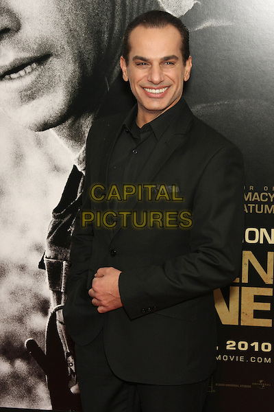 """SAID FARAJ.The World Premiere of """"Green Zone"""" held at the AMC Loews Lincoln Square Theater, New York, NY, USA..February 25th, 2010.half length black suit jacket .CAP/LNC/TOM.©LNC/Capital Pictures."""