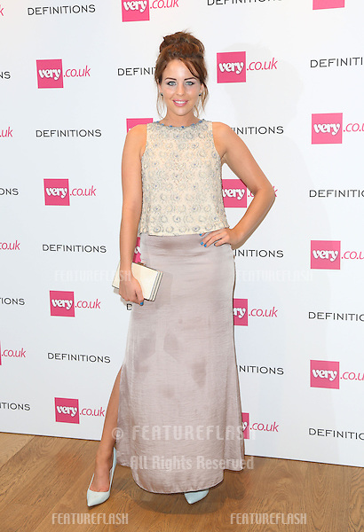 Lydia Bright at the Launch party for Very.co.uk introducing the new fashion brand Definitions at Somerset House<br /> London. 04/09/2013 Picture by: Henry Harris / Featureflash