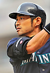 21 June 2011: Seattle Mariners right fielder Ichiro Suzuki prepares to lead off the game against the Washington Nationals at Nationals Park in Washington, District of Columbia. The Nationals rallied from a 5-1 deficit, scoring 5 runs in the bottom of the 9th, to defeat the Mariners 6-5 in inter-league play. Mandatory Credit: Ed Wolfstein Photo