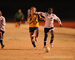 Oxford High's Virginia Terry (13) vs. Ridgeland in girls soccer North Half championship play-off action on Tuesday, February 2, 2010 in Oxford, Miss.