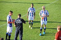 VOETBAL: AKKRUM: 11-07-2014, Oefenduel SC Heerenveen - Telstar, ©foto Martin de Jong