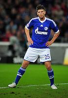 FUSSBALL   1. BUNDESLIGA   SAISON 2012/2013   5. SPIELTAG FC Schalke 04 - FSV Mainz 05                               25.09.2012        Klaas Jan Huntelaar (FC Schalke 04)