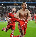 Fussball, Uefa Champions League 2009/2010, Viertelfinale: FC Bayern Muenchen - Manchester United