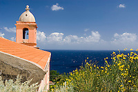 Salina, Eolian Islands, Italy, June 2006. The Volcanic Eolian Islands of Southern Italy offer a spectacular landscape for trekking while staying in picturesque towns. Photo by Frits Meyst/Adventure4ever.com
