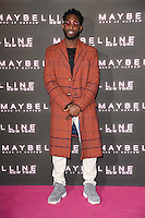 Tinie Tempah at the Maybelline Bring on the Night party at The Scotch of St James, London, UK. <br /> 18 February  2017<br /> Picture: Steve Vas/Featureflash/SilverHub 0208 004 5359 sales@silverhubmedia.com