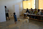 Voting at the polling station in the Ermera district village of Fatuquero to cast their vote on Timor-Lestes June 30 Parliamentary elections..Timor-Leste