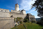 Esterhazy castle (Esterházy Kastélz) Burg Forchstein  ( Fraknó Vára ) , Eisenstadt (Kismarton), Austria