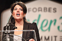 OCT 20 Monica Lewinsky at Forbes Under 30 Summit PA