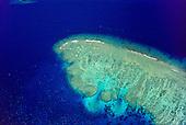 Récifs coralliens, passe de la sarcelle