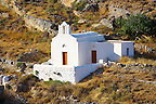 Small Greek Orthodox chapel,  Syros Island [ ????? ] , Greek Cyclades Islands