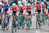 Picture by Alex Whitehead/SWpix.com - 12/05/2017 - Cycling - Tour Series Round 3, Northwich - Matrix Fitness Grand Prix - Drops' Alice Barnes, Abigail Van Twisk, Annasley Park