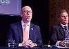 UKIP <br /> Leadership hustings <br /> at the Emanuel Centre, London, Great Britain <br /> 1st November 2016 <br /> <br /> the first leadership hustings before the election on 28th November 2016 <br /> <br /> <br /> <br /> Paul Nuttall <br /> <br /> <br /> <br /> <br /> Photograph by Elliott Franks <br /> Image licensed to Elliott Franks Photography Services