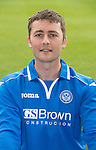 St Johnstone FC 2013-14<br /> Tom Scobbie<br /> Picture by Graeme Hart.<br /> Copyright Perthshire Picture Agency<br /> Tel: 01738 623350  Mobile: 07990 594431