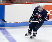 Luke Moffatt (US - 7) - The Boston University Terriers defeated USA Hockey's National Team Development Program's Under 18 team 3-2 on Saturday, October 10, 2009 at Agganis Arena in Boston, Massachusetts.