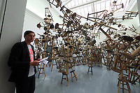 55th Art Biennale in Venice - The Encyclopedic Palace (Il Palazzo Enciclopedico).<br /> Giardini. German Pavilion (this year in the France Pavilion).<br /> Ai Weiwei, China.<br /> &quot;Bang&quot;, 2010 - 2013.