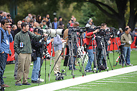 Stanford, Ca - Thursday, March 23, 2012: NFL Pro Timing day 2012.