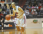 "Ole Miss guard Will Bogan (3) against Alcorn State at the C.M. ""Tad"" Smith Coliseum in Oxford, Miss. on Thursday, December 29, 2010. Ole Miss won 100-62. (AP Photo/Oxford Eagle, Bruce Newman)"