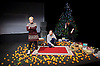 Belarus Free Theatre<br /> Time of Women by Nicolai Khalezin and Natalia Kaliada<br /> at The Young Vic Theatre, London, Great Britain <br /> press photocall <br /> 9th November 2015 <br /> <br /> Maryna Yurevich<br /> <br /> Maryia Sazonava<br /> <br /> <br /> Photograph by Elliott Franks <br /> Image licensed to Elliott Franks Photography Services