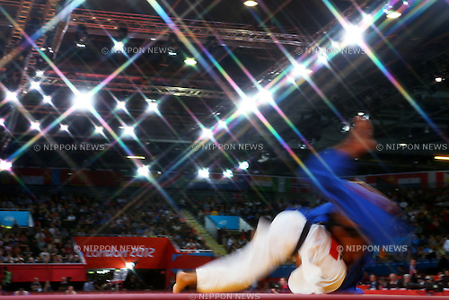 The ambiance shot, .JULY 30, 2012 - Judo : .Men's -73kg .at ExCeL .during the London 2012 Olympic Games in London, UK. .(Photo by Daiju Kitamura/AFLO SPORT) [1045].
