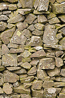 Drystone wall by a field on Blake Muir near Kirkhouse, Southern Uplands, Scotland