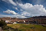 The Gardens of the Qorikancha in Cusco Peru