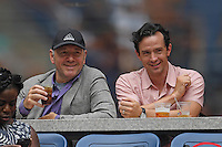 FLUSHING NY- SEPTEMBER 03: Kevin Spacey is sighted watching Serena Williams Vs Johanna Larssonon Arthur Ashe Stadium at the USTA Billie Jean King National Tennis Center on September 3, 2016 in Flushing Queens. Credit: mpi04/MediaPunch