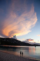 Sunset at Magen's Bay.<br />