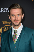 Dan Stevens at the premiere for Disney's &quot;Beauty and the Beast&quot; at El Capitan Theatre, Hollywood. Los Angeles, USA 02 March  2017<br /> Picture: Paul Smith/Featureflash/SilverHub 0208 004 5359 sales@silverhubmedia.com