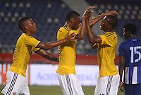 Colombia sub 20 vs Honduras en Barranquilla  , 22-10-2014