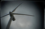 A group of wind turbine are seen in wind park of .... in Burgos on March 27, 2011. Wind energy is an abundant, renewable, clean and helps reduce emissions of greenhouse gases from power plants to replace fossil fuel-based, which makes it a kind of green energy..Un grupo de aerogeneradores del parque eolico de .... son vistos en Burgos en Marzo 27, 2011. La energía eólica es un recurso abundante, renovable, limpio y ayuda a disminuir las emisiones de gases de efecto invernadero al reemplazar termoeléctricas a base de combustibles fósiles, lo que la convierte en un tipo de energía verde. Pedro ARMESTRE