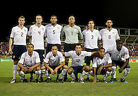 Starting Eleven, USA 1-0 over Trinidad at Hasely Crawford Stadium, Port of Spain, Trinidad, Wednesday, Sept. 9, 2009. ..   .