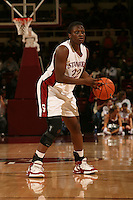14 January 2006: Eziamaka Okafor during Stanford's 87-75 win over the California Golden Bears at Maples Pavilion in Stanford, CA.